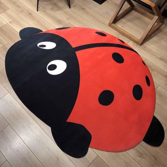3d Kids Halı - Uğur Böceği