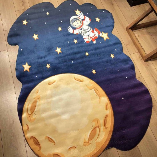 3d Kids Carpet - Astronaut