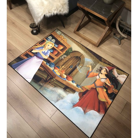 3d Panel Carpet - 100x140 cm