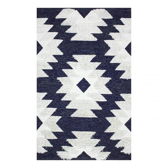 Afro Washable Hand Woven Rug - 80x150 cm