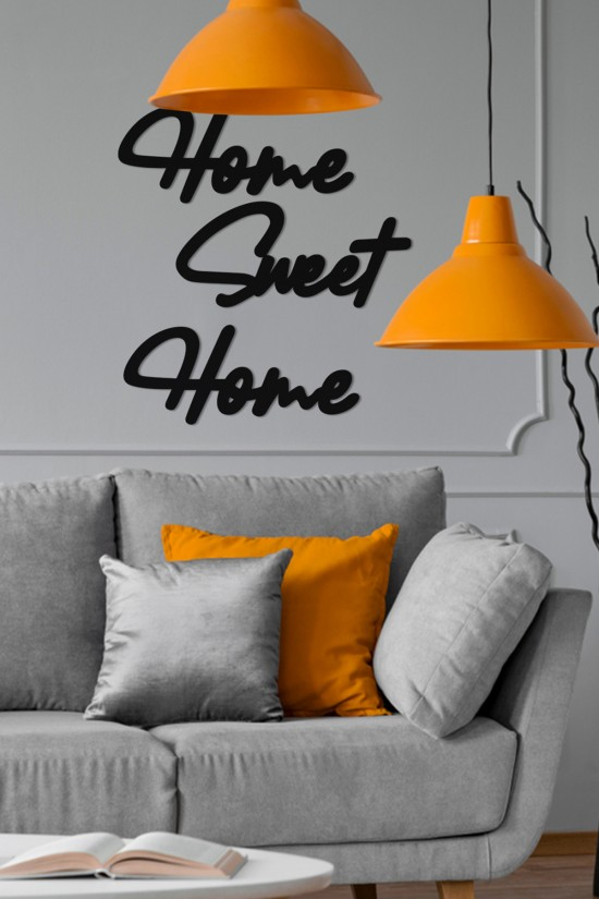 """Home Sweet Home"" Decorative Wall Paper"