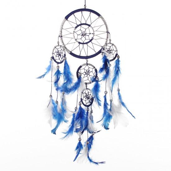 Dream Catcher Dekor - Mavi 12x36 cm