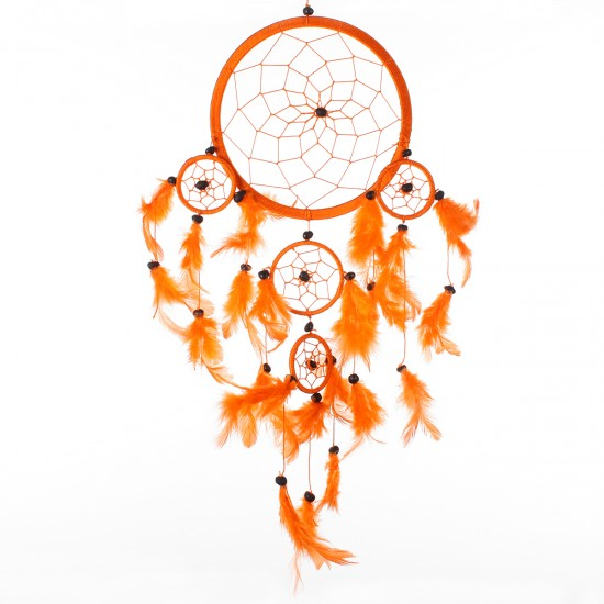 Dream Catcher Dekor - Turuncu 16x36 cm