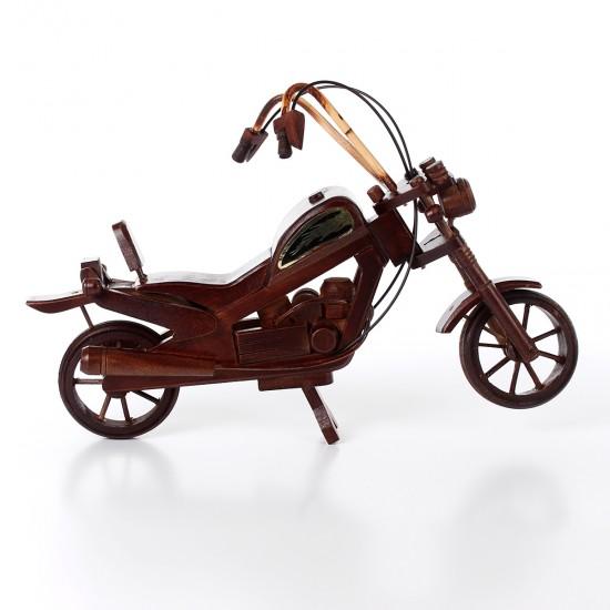 Ahşap Motorsiklet Antika Görünümlü