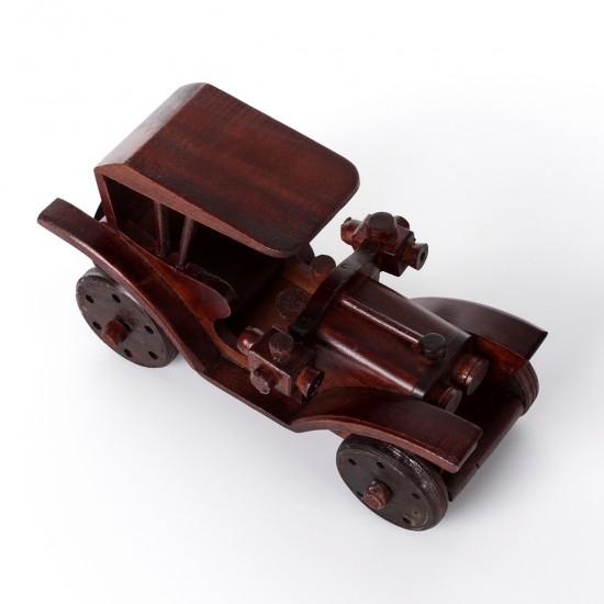 Ahşap Klasik Araba Antika Görünümlü Büyük