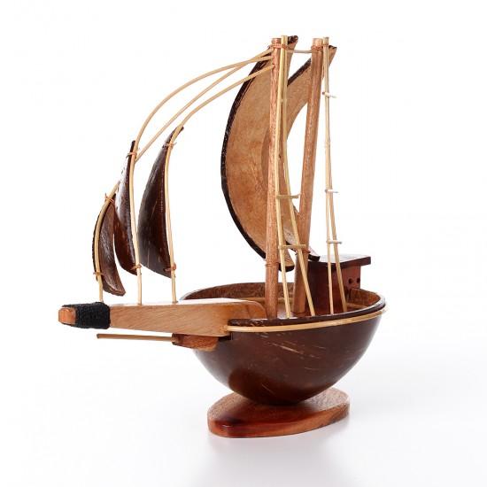 Ahşap Dekoratif Gemi