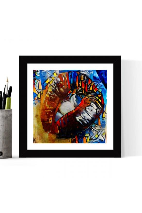 Framed Poster - 24 x 24 cm