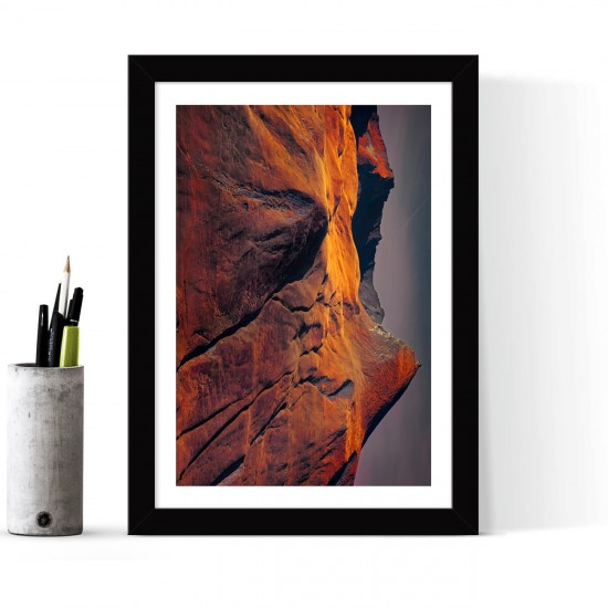 Çerçeveli Poster Tablo - 24 x 33 cm
