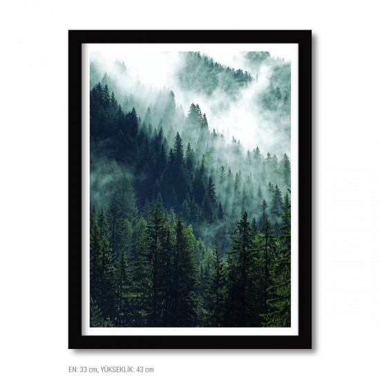 Framed Poster - 33 x 43 cm