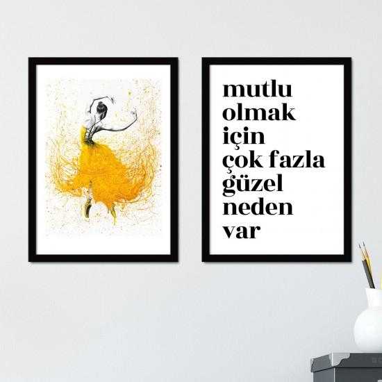 BC HOME Çerçeveli Tablo Seti