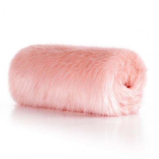 Plush Seat Shawl - Pink