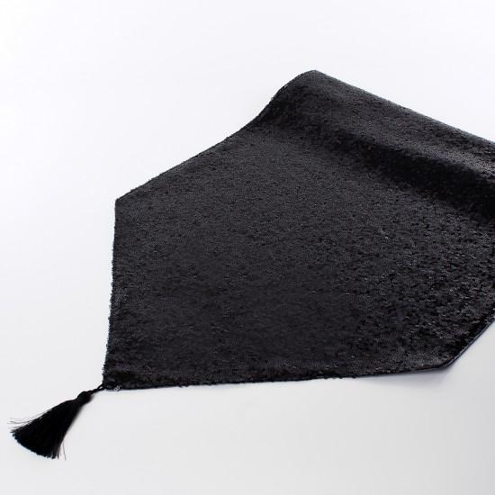Payetli Runner - Siyah