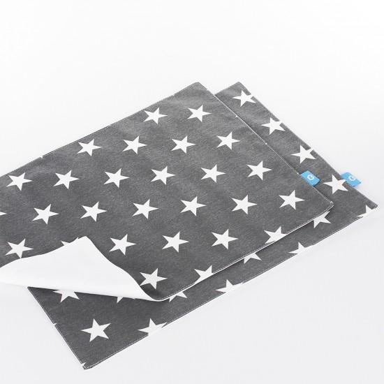 Amerikan Servis Yıldızlar Gri - 2 Adet