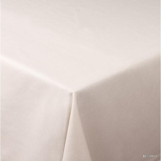 Krem Masa Örtüsü - 160x220 cm