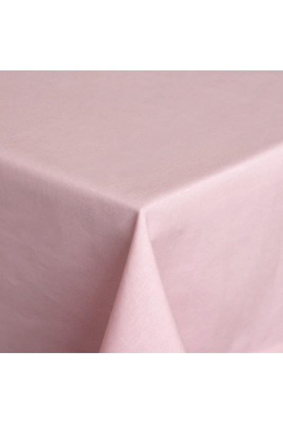 Pembe Kare Masa Örtüsü - 160x160 cm