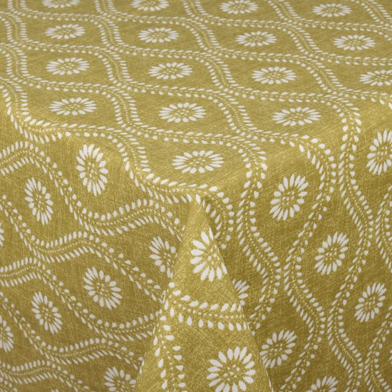 Yeşil Damask Masa Örtüsü - 160x220 cm