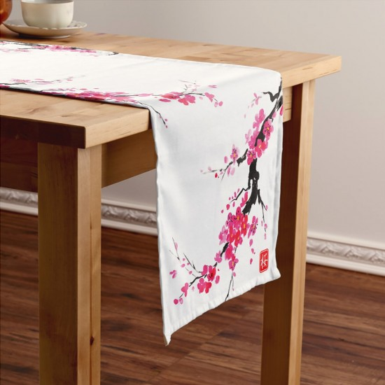 Flower Patterned Runner