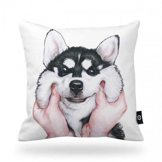Dog Decorative Pillow Cover