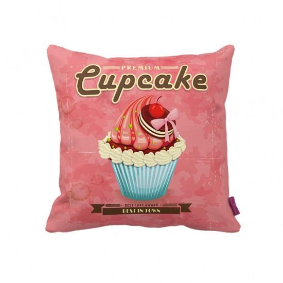 Cupcake Dekoratif Yastık Kılıfı