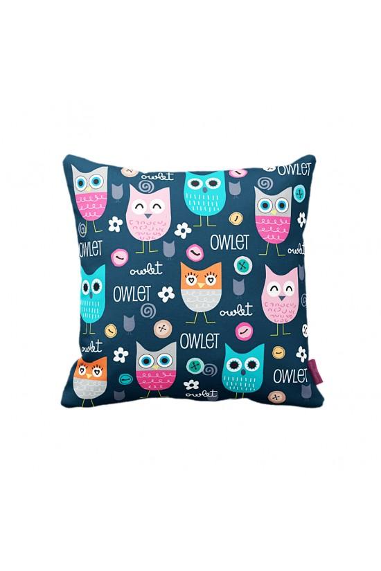 Owlet Dekoratif Yastık Kılıfı