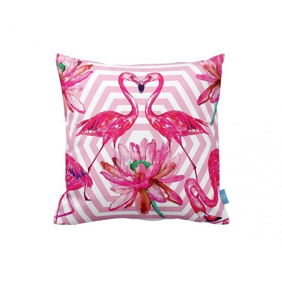 Flamingolar Dekoratif Yastık Kılıfı