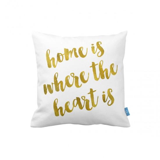 HOME IS... Dekoratif Yastık Kılıfı
