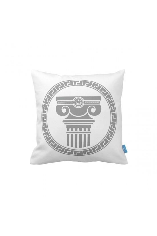 Efes Desenli Dekoratif Yastık Kılıfı