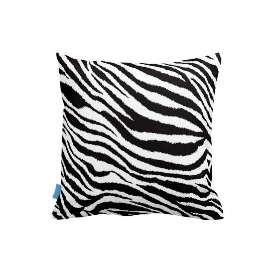 Zebra Desenli Dekoratif Yastık Kılıfı