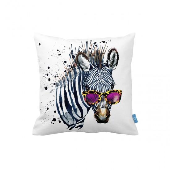 Zebra Dekoratif Yastık Kılıfı