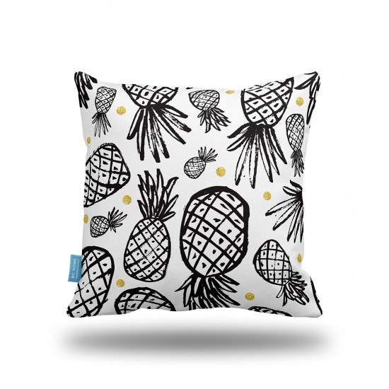 Ananaslar Dekoratif Yastık Kılıfı