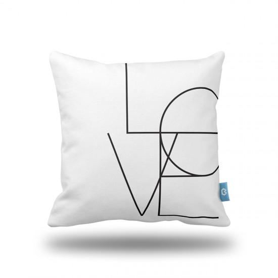 Love SB Dekoratif Yastık Kılıfı