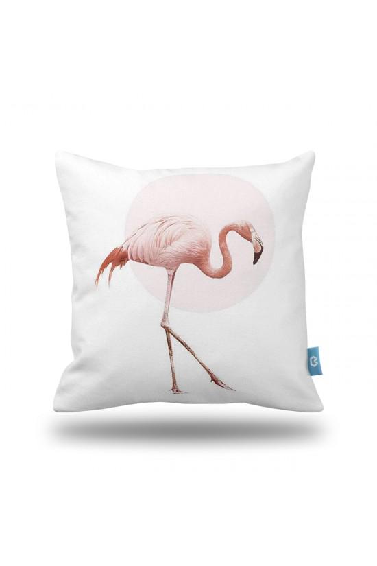 Flamingo  Dekoratif Yastık Kılıfı