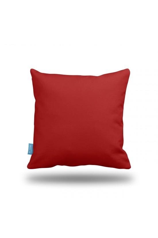 Kırmızı Dekoratif Yastık Kılıfı