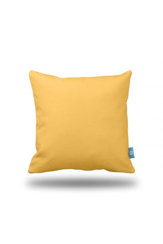 Sarı Dekoratif Yastık Kılıfı
