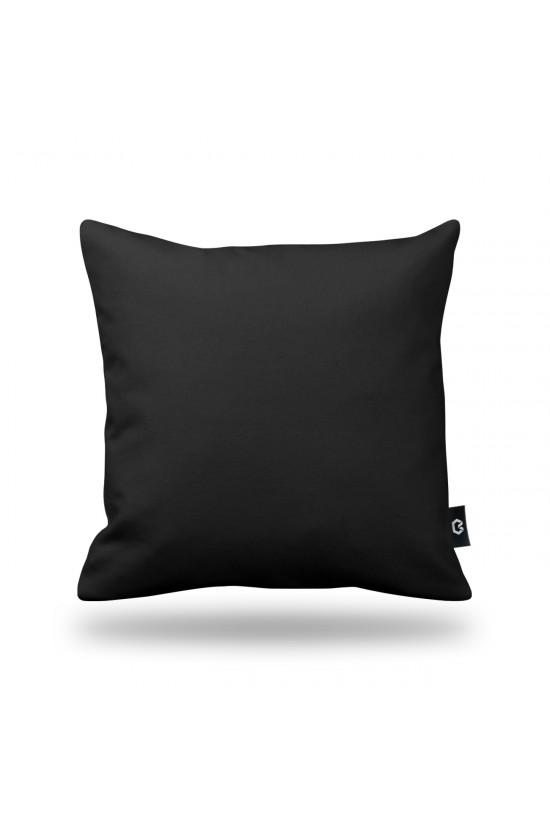 Dekoratif Yastık Kılıfı - Siyah