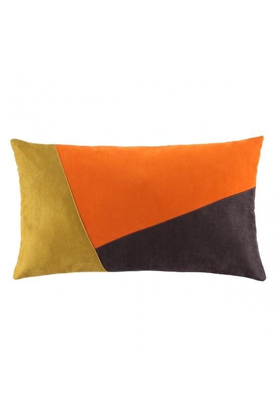 Dikdörtgen Dekoratif Yastık Kılıfı - Renkli