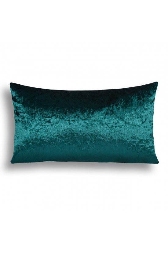 Velvet Decorative Cushion Cover - Green