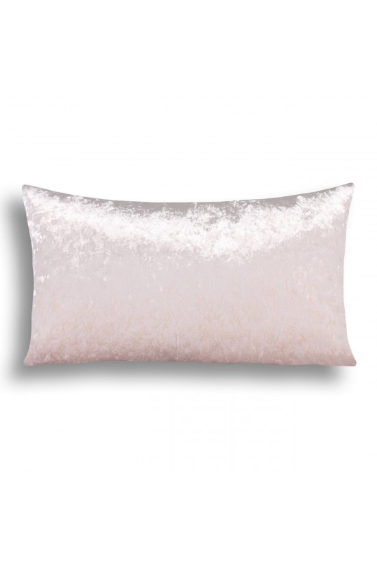 Velvet Decorative Cushion Cover - Cream