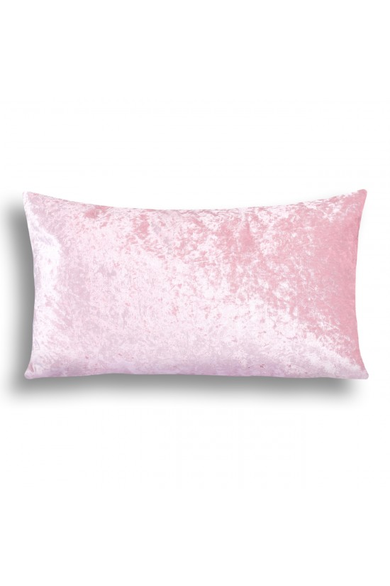Velvet Decorative Cushion Cover - Powder Pink