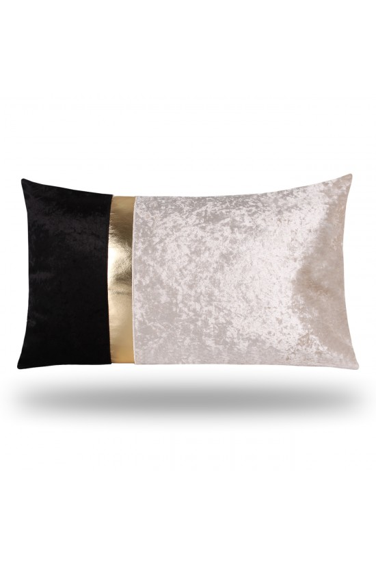 Velvet/Leather Decorative Cushion Cover